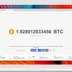kopanie bitcoina w przeglądarce